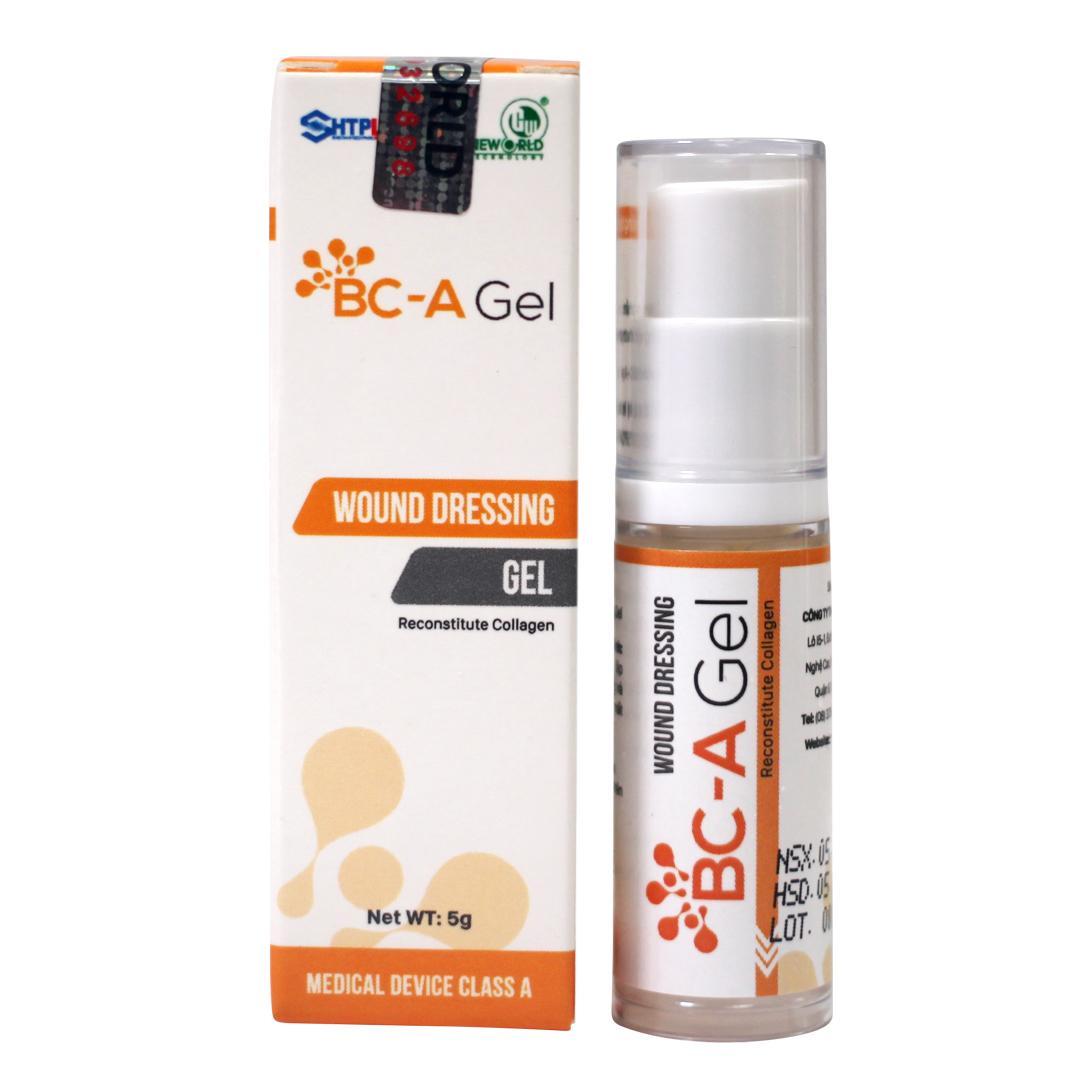 Băng vết thương dạng Gel BC-A Gel 5g nhập khẩu