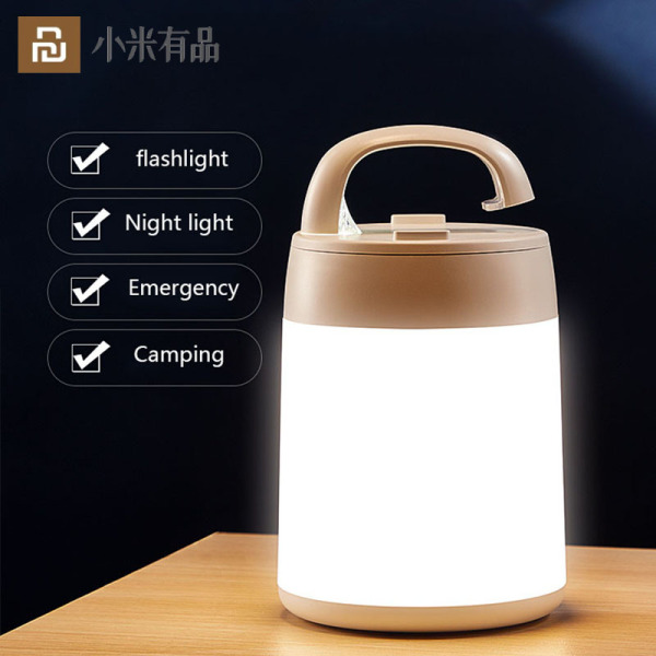 Xiaomi Youpin LED Touch Desk Lamp Night Light For Study Bedroom Living Room USB Charge Dimmable Eye Protection Hand Table Lamps Bracket