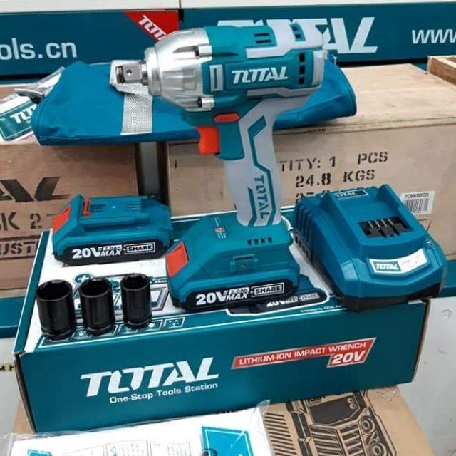 20V Máy siết bu lông dùng pin Total TIWLI2001