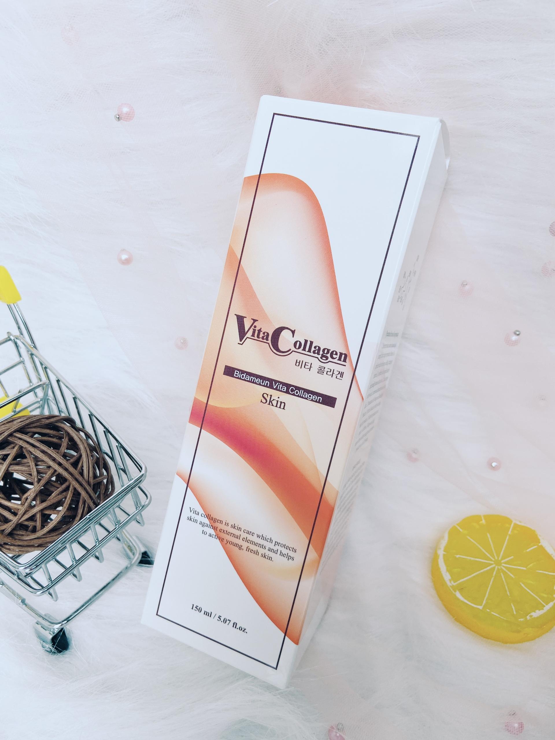 Bidameun - Nước Hoa Hồng Vita-collagen Giúp Giảm Nhăn & Săn Chắc Da 150ml Bất Ngờ Ưu Đãi Giá