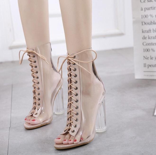 Giày bốt trong đan dây cao 9f giá rẻ
