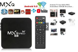 Android Tivi Box MXQ PRO TV Box Android 10.1 4K 4G+64G Thiết bị chuyển đổi TV thường thành Smart Tivi Box thumbnail