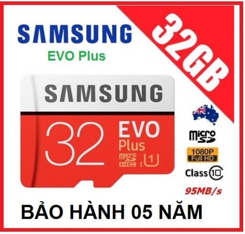 Thẻ nhớ Samsung Plus 32GB Class10 95mb/s - Tốc độ cao New Model