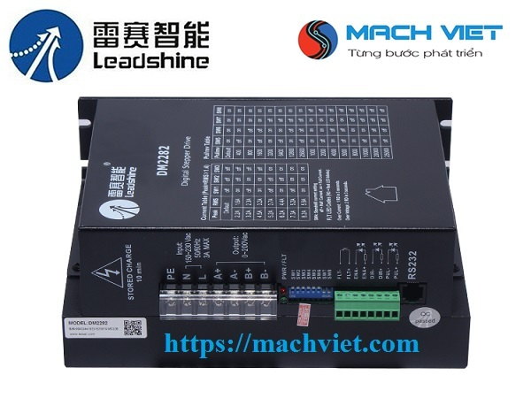 Driver DM2282 Leadshine điều khiển động cơ bước 16Nm, 20Nm, 30Nm
