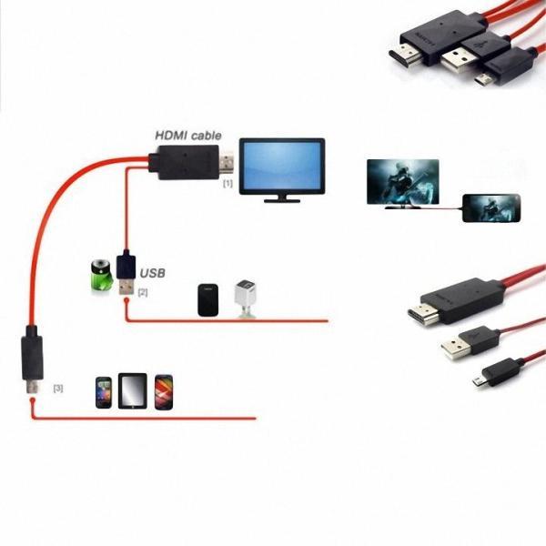 CÁP HDMI KẾT NỐI TỪ ĐIỆN THOẠI SANG TIVI