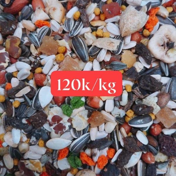 Hạt mix Ý cao cấp cho Vẹt gói  1kg