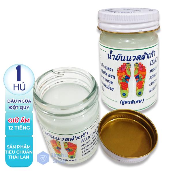 [ NGĂN NGỪA ĐỘT QUỴ ] 01 Hủ Dầu massage ngăn ngừa đột quỵ Thái Lan (Date: 24 tháng) nhập khẩu