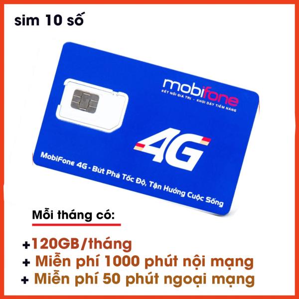SIM 4G MOBI C90N đầu 09 ƯU ĐÃI 120 GB/THÁNG (4 GB/ngày) tốc độ cao + 1000 phút nội mạng + 50 phút liên mạng)