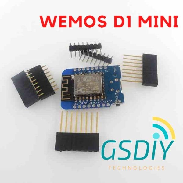 Giá Mạch WeMos D1 Mini ESP8266 sử dụng chíp nạp CH340
