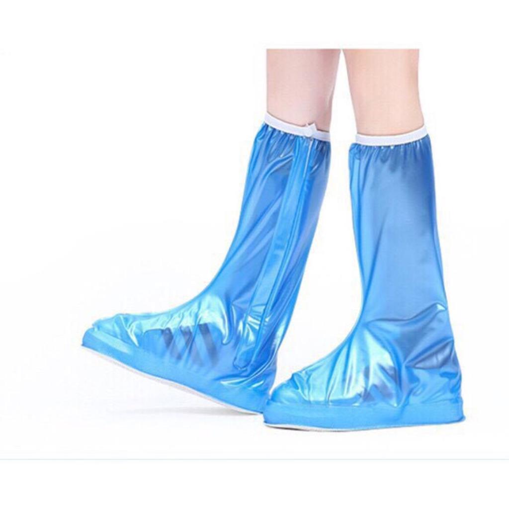 Giày đi mưa, ủng bọc giày đi mưa cao cổ siêu bền F89 0036