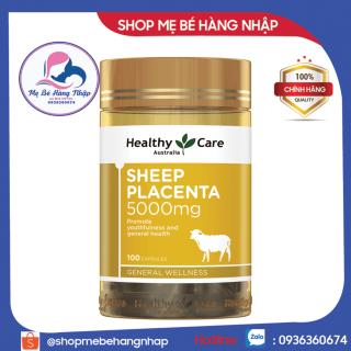 Nhau Thai Cừu [Úc] Sheep Placenta Healthy Care 5000mg - 100 viên thumbnail
