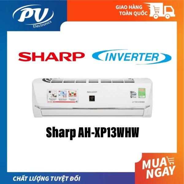 Bảng giá MÁY LẠNH SHARP AH-XP13WHW INVERTER 1.5HP, KẾT NỐI WIFI. làm lạnh cực nhanh POWERFUL JET tiết kiệm điện