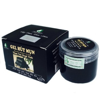 GEL HÚT MỤN THAN TRE HOẠT TÍNH loại bỏ bụi bẩn, độc tố bám sâu trong lỗ chân lông giúp khử độc, thanh lọc cho da thumbnail