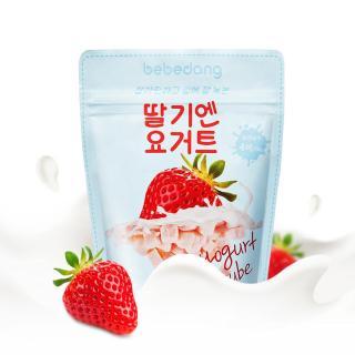 Sữa chua khô hoa quả sấy lạnh cho bé BEBEDANG - Vị dâu thumbnail