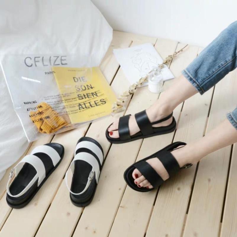 sandal nữ 2 quai dẻo cực êm chân giá rẻ