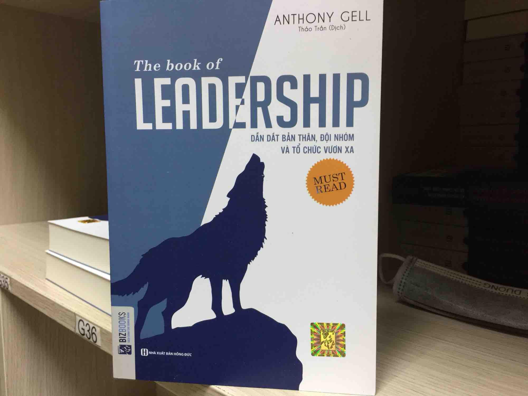 Mua The book of leadership-dẫn dắt bản thân đội nhóm vươn xa