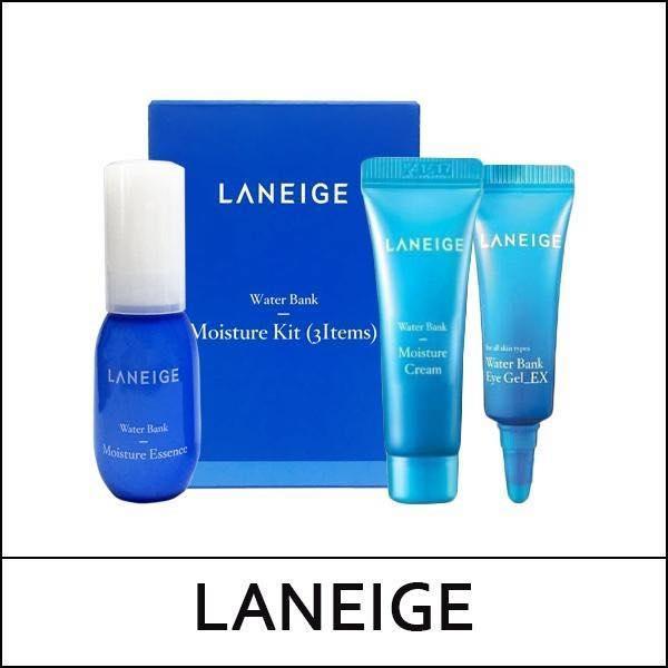 Bộ Kit Dưỡng Ẩm Da Laneige Water Bank Moisture Kit 3 món nhập khẩu