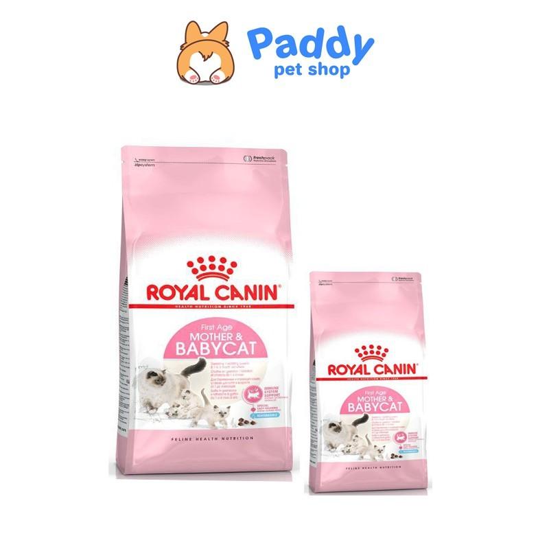Thức ăn hạt Royal Canin Mother & Babycat cho mèo mẹ và mèo con - 400g