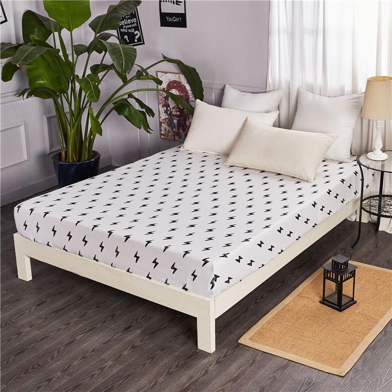 100% Cotton Ga Bọc Đệm Phần Đơn Chiếc 100% Cotton 1.5 M/1.8 M. Hai Người Simmons Bộ Bảo Hộ Bộ Đệm Giường Trên Giường Cung Cấp