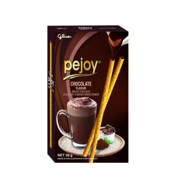 [QUÀ TẶNG KHÔNG BÁN ] Hộp bánh que Glico Pejoy Sô cô la 39g ngon giòn, không vụn, hương vị hấp dẫn