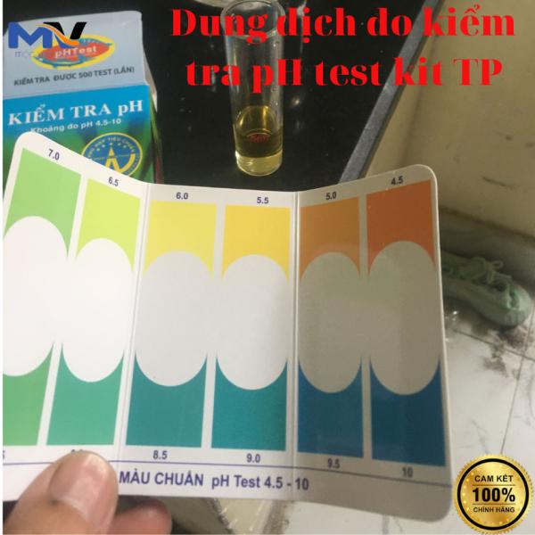 DUNG DỊCH ĐO KIỂM TRA pH test kit TP DÀNH CHO HỒ CÁ CẢNH | CỬA HÀNG CÁ CẢNH VÀ THIẾT BỊ LỌC NƯỚC HỒ CÁ MỘC VINH AQUA