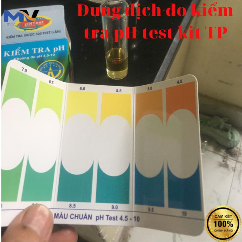 DUNG DỊCH ĐO KIỂM TRA pH test kit TP DÀNH CHO HỒ CÁ CẢNH   CỬA HÀNG CÁ CẢNH VÀ THIẾT BỊ LỌC NƯỚC HỒ CÁ MỘC VINH AQUA