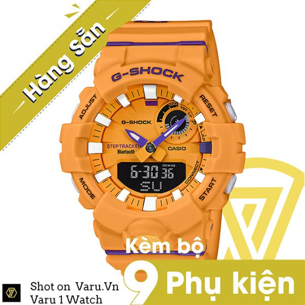[Cao Cấp] Đồng hồ thể thao nam nữ G-Shock GBA-800DG-9A Full phụ kiện bán chạy