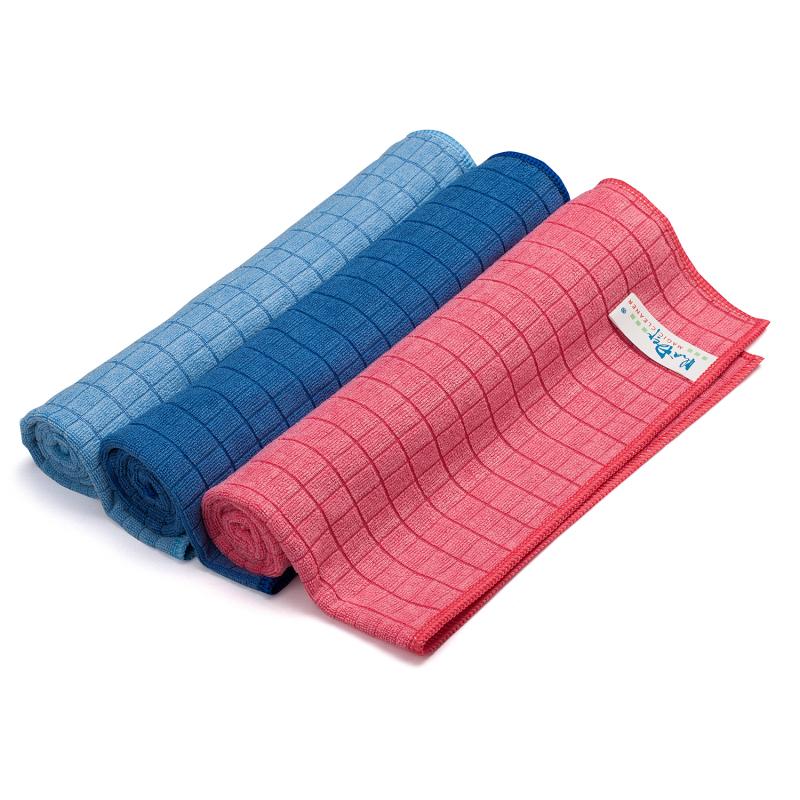Khăn lau xe hơi - Bộ 5 khăn lau Microfiber siêu thấm hút, không làm trầy xước xe size 50x55 cm