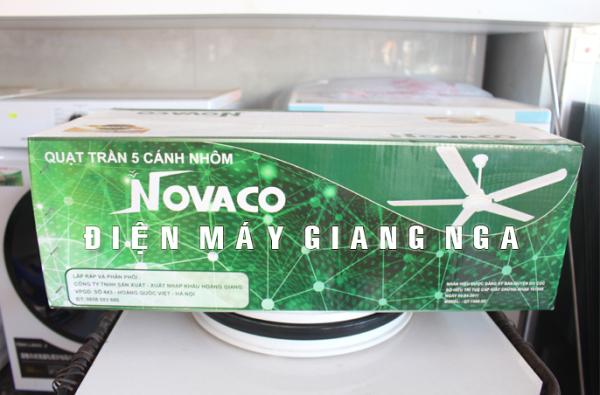 Quạt trần 5 cánh nhôm Novaco QT-1400-5CN