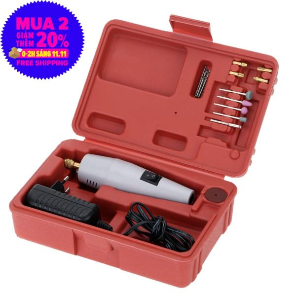 Máy khoan siêu nhỏ cầm tay, Máy khoan, cắt, mài mini đa năng : Máy quay nhanh và mạnh, Sử dụng AC 12V