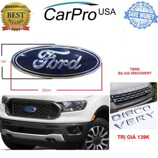 TẶNG chữ DISCOVERY trị giá 159K - Logo FORD ô tô xe hơi Ford (kích thước 23 9 màu xanh) mặt trước và nắp sau tiêu chuẩn SS95 - Logo Ford Thay thế trước và sau cho Ford Ranger - Bản thường - Logo Ford thumbnail