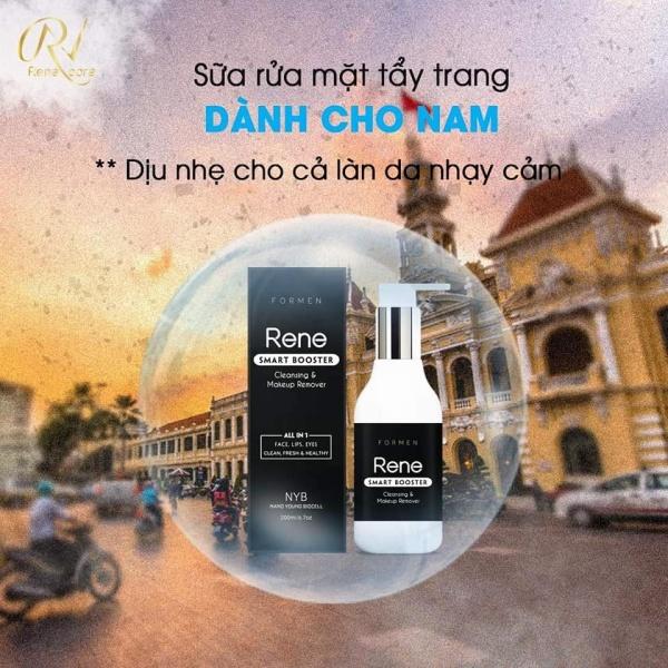 Sữa rửa mặt tẩy trang cho Nam Rene (được bán bởi Shop Hàng Ngoại Kamie) giá rẻ