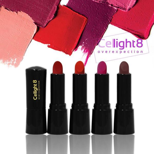 Kit - set 5 cây son mini môi thiên nhiên không chì Cellight 8 Eco Lipstick - 2g giá rẻ