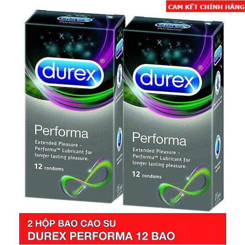 Combo 2 Hộp Bao Cao Su Durex Performa 12 Condoms