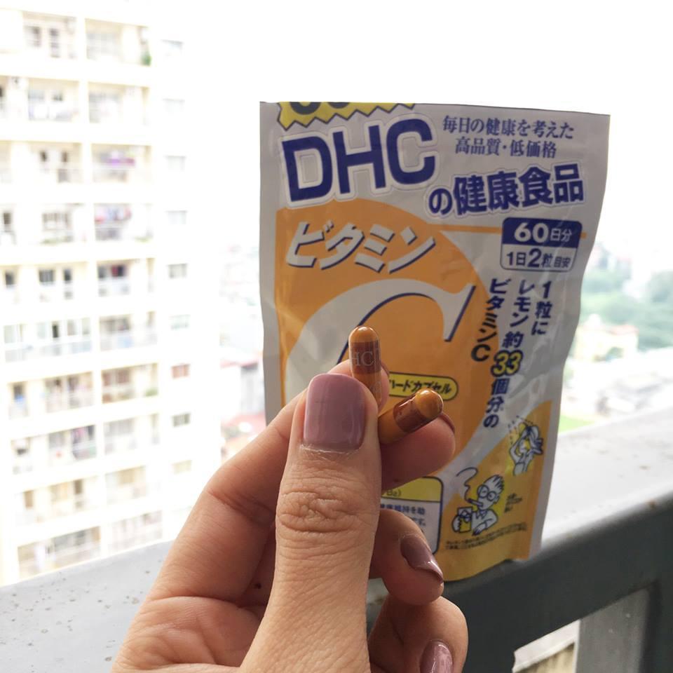 Viên uống bổ sung vitamin C DHC 60 ngày Jemart