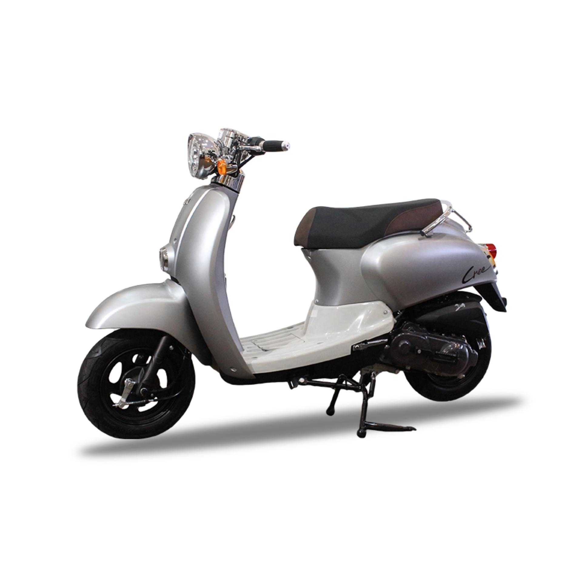 Xe tay ga 50cc TAYA CREA (màu bạc)