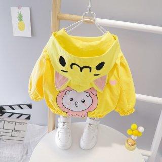 HÀNG MỚI VỀ Áo khoác họa tiết cừu cho bé, áo khoác cho bé, áo khoác có mũ cho bé, áo khoác bé trai bé gái thumbnail