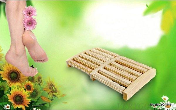 Bàn Massage Bàn Chân Bằng Gỗ Cao Cấp nhập khẩu