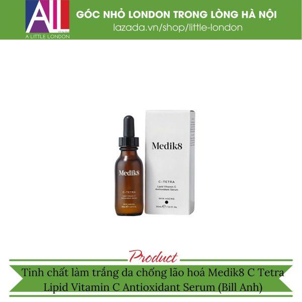 Tinh chất làm trắng da chống lão hoá Medik8 C Tetra Lipid Vitamin C Antioxidant Serum (Bill Anh)