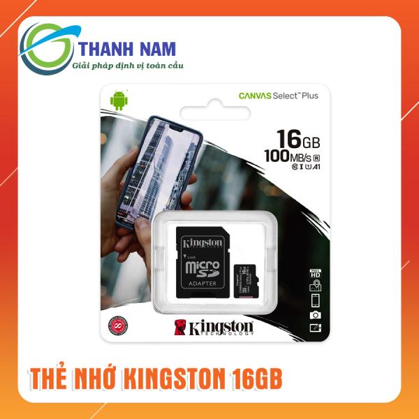 THẺ NHỚ KINGSTON 16GB CANVAS CLASS 10 100MB/S, Bảo hành trọn đời