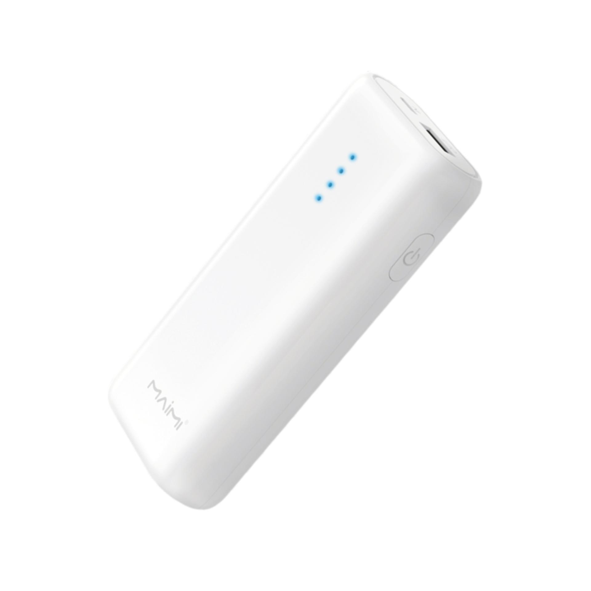 Giá Maimi P24 Pin Sạc Dự Phòng Dung Lượng 5200mAh Đèn Led Báo Dung Lượng Pin Sạc Nhanh 2.1A 1 Cổng USB đầu ra, Đầu vào - Micro