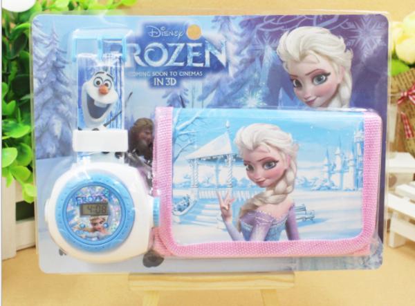 Nơi bán Set Đồng Hồ Prozen Elsa cho Bé Gái Thời Trang