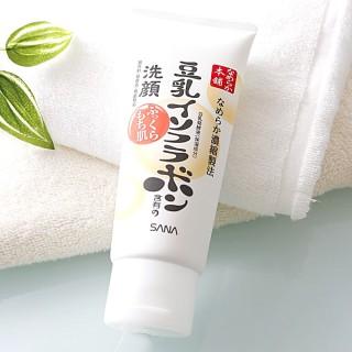 Sữa rửa mặt SANA chiết xuất mầm đậu nành [ Màu Trắng ] Sữa Rửa Mặt Sữa Đậu Nành Nameraka Honpo 150G thumbnail
