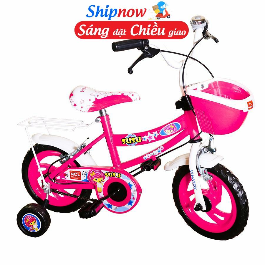 Giá bán Xe đạp trẻ em Nhựa Chợ Lớn 12 inch K107 - M1822-X2B