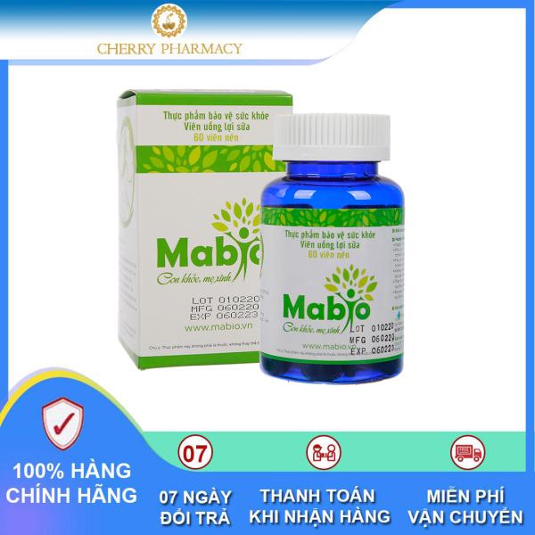 Viên uống lợi sữa Mabio hỗ trợ triệu chứng tắc sữa sau sinh cao cấp