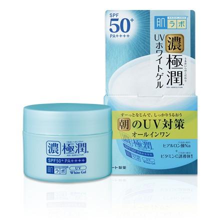 Kem dưỡng ngày trắng da chống nắng Hada Labo UV White Gel 90g Nhật Bản