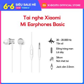 [XIAOMI OFFICIAL] Tai nghe có dây Mi Earphones Basic - Bảo hành Chính Hãng 6 tháng thumbnail