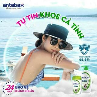 Bộ 2 Sữa tắm kháng khuẩn Antabax Nature Thiên Nhiên - chiết xuất trà xanh diệt 99.99% các vi khuẩn mầm bệnh - có 4 mùi thơm mát - BỘ SẢN PHẨM ĐỰNG TRONG HỘP QUÀ GỒM CHAI 550ML+CHAI 220ML thumbnail