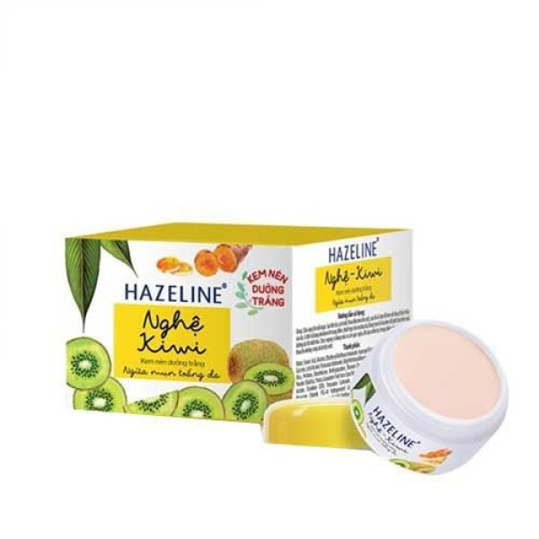 Kem nén dưỡng trắng Hazeline (8g) - xanh