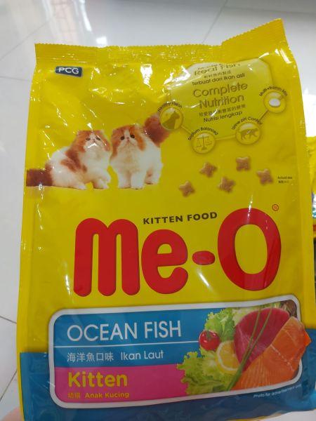 Thức ăn hạt cho mèo con vị cá biển Me-O Kitten - 1.1 kg